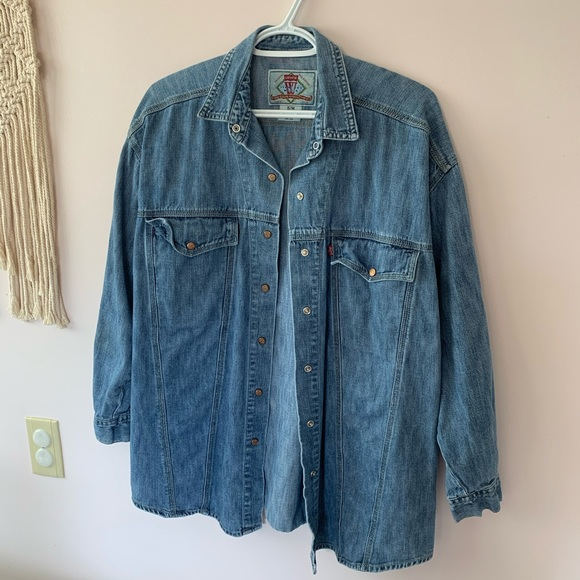 Vintage Levi's button up work shirt